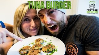 Probrokitchen - Tuna Burger Feat. Jana Kovacovic