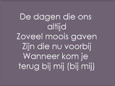ralf - ik mis je zo [lyrics] - youtube