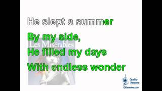 Les Miserables - I Dreamed a Dream (Karaoke Instrumental) w/ Lyrics
