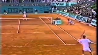 ムスターvsカフェルニコフ & 坂井利郎vs平井健一(95年フレンチオープンSF)