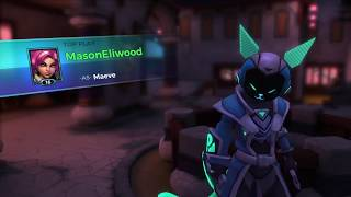 Maeve Ranked Placement 4-0 Stomp w/ Top Play (Paladins)