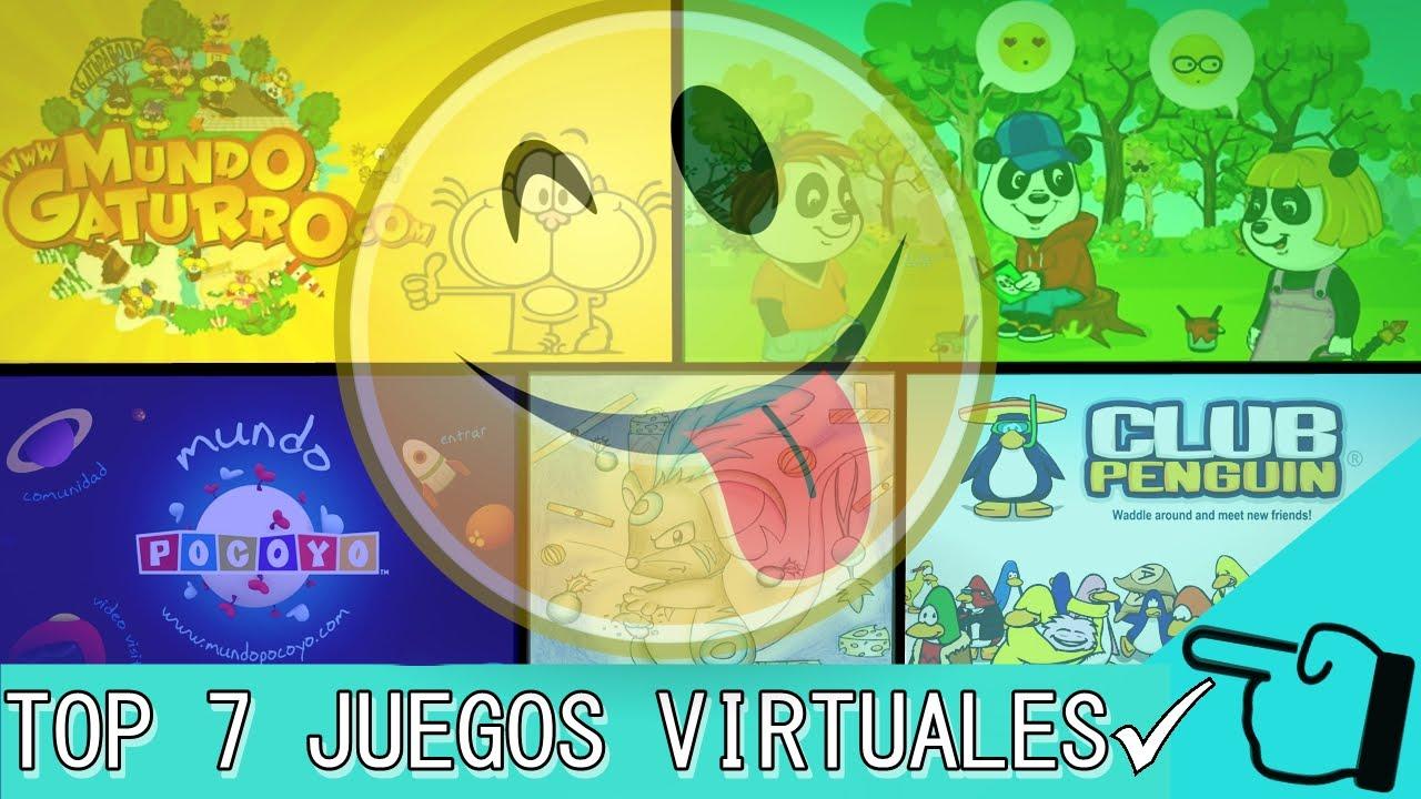 7 Juegos Virtuales Para Ninos Y Ninas 1 Youtube