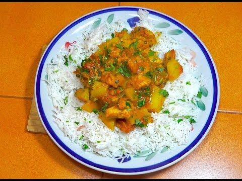 Chicken Curry - Super Fast Chicken Curry - Easy Chicken Curry - Chicken Masala - Chicken Potato