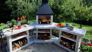 40 Outdoor Kitchen and Grill Ideas  - Small and Big outdoor kitchen