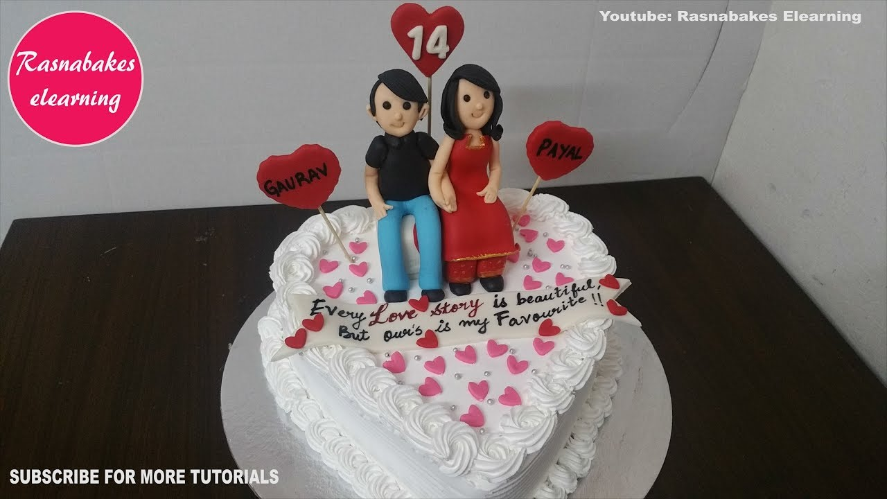 Happy Marriage Anniversary Cake Design Ideas Decorating Tutorial