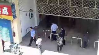 城管打死人全过程 Chinese Peace Officer brutality