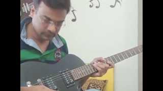 Yashomati Maiya Se Bole Nandlala (Satyam Shivam Sundaram) on Guitar..