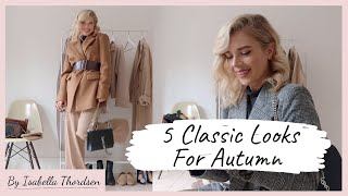 5 CLASSIC LOOKS l How To Style A Roll Neck Jumper l Autumn Styling Video