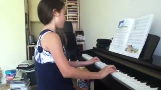 "Estrellita (it means ""Little star"") on piano!!"