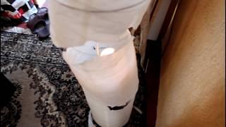 новая жизнь напольной лампы из Икеи