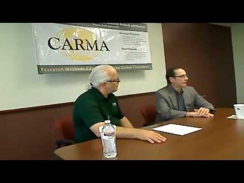 Dr. Steve Kozlowski - CARMA - Meet the Methodologist 26