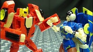 Street Fighter 2/Transformers HOT RODIMUS (KEN) vs ARCEE (CHUN LI): EmGo's Reviews N' Stuff