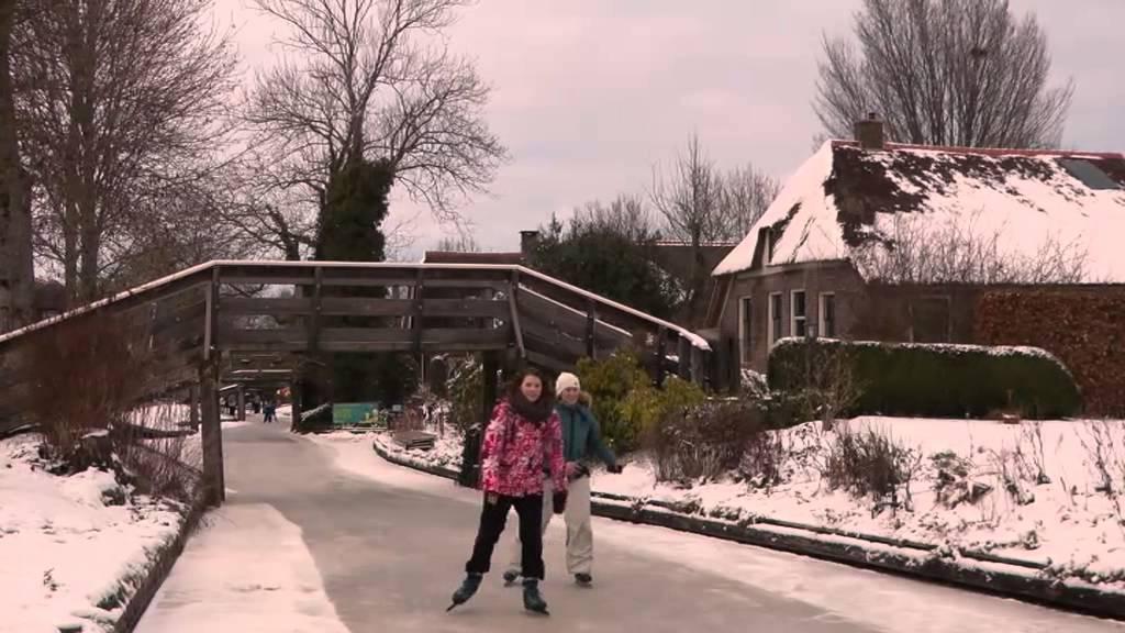 Giethoorn Winter 2013 Youtube