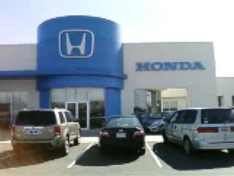 Hendrick honda outside showroom view charlotte 39 s honda for Honda dealership charlotte nc