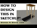 Designing A Walking Desk in Sketchup!  (WnW #89)