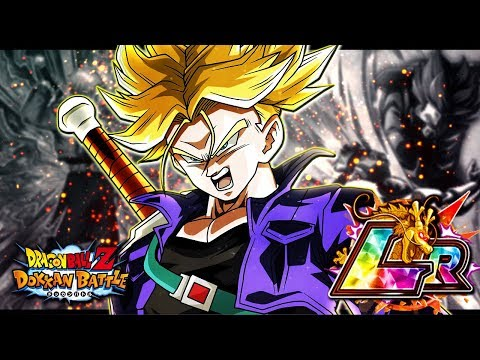 ULTIMATE HYBRID SAIYAN TEAM!! LR TRUNKS IS INSANE! BOSS RUSH ERADICATION | DOKKAN BATTLE | JP