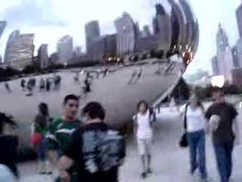cloud gate chicago millenium park