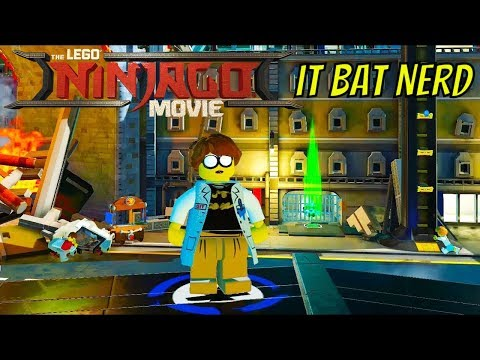 The LEGO Ninjago Movie Video Game IT Bat Nerd Unlock Location and Free Roam Gameplay
