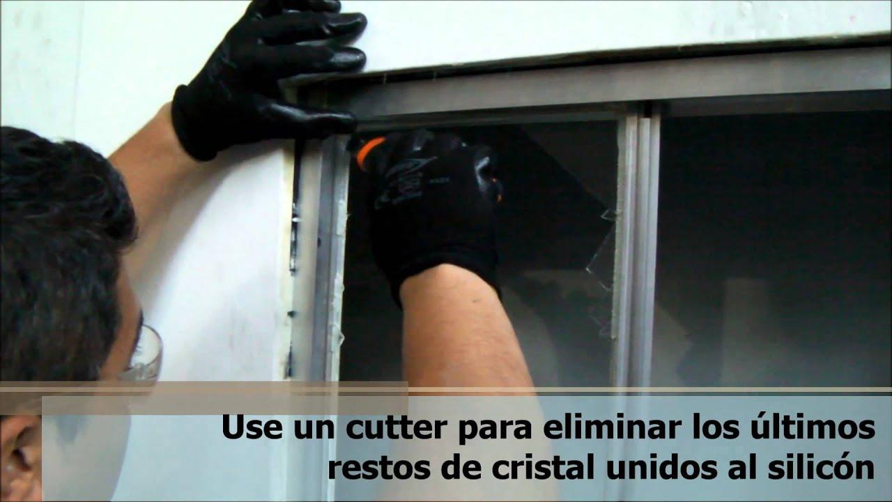 Cristal Ventana Cristal De Impacto Ventanas Puerto Rico Plegable  ~ Cambiar Cristal Ventana Aluminio