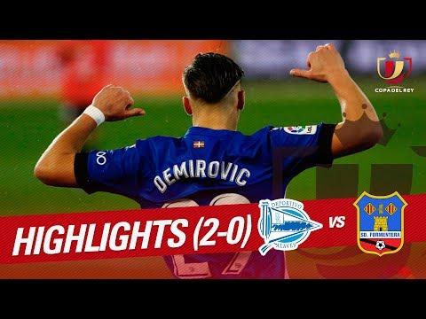 Resumen de Deportivo Alavés vs SD Formentera (2-0)