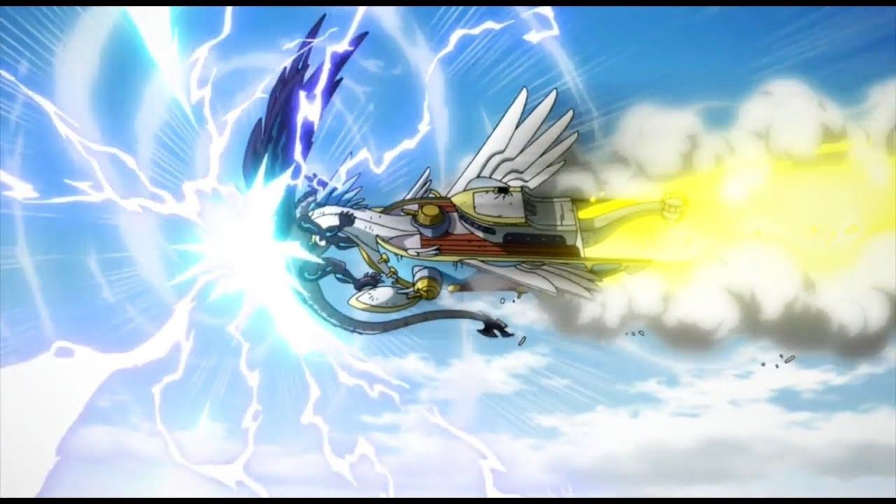 Fairy Tail Ichiya And Anna Sacrifice + Acnologia Touches Time Rift English Sub