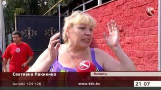 Крупный пожар в Алматы: людей спасали пожарные и собаки