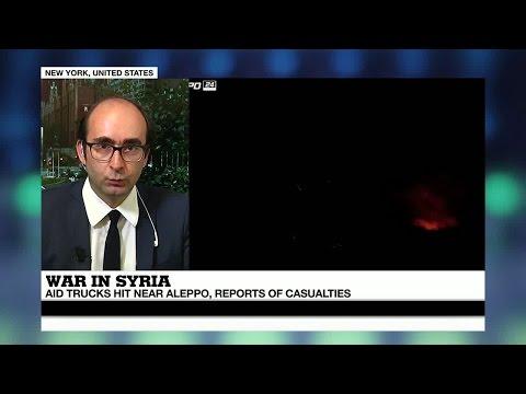 Syria: UN officials express outrage over air strikes on Aleppo humanitarian convoy
