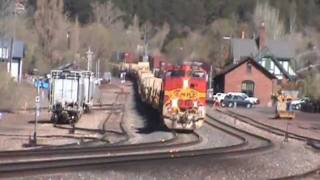 BNSF Military Train in Flagstaff, AZ
