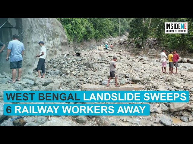 West Bengal landslide sweeps 6 railway workers away; 3 admitted in Sikkim hospital