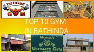 TOP 10 GYM IN BATHINDA