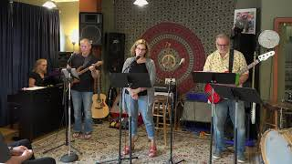 Joy Cheryl and Arthur Performing Shallow Main Street Music and Art Studio