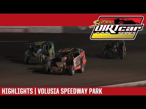 Super DIRTcar Series Big Block Modifieds Volusia Speedway Park February 14, 2019 | HIGHLIGHTS