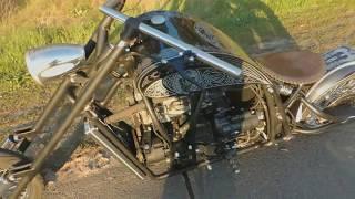 Мотоцикл с двигателем ваз 2108 Steel Hogs MCC Rylsk