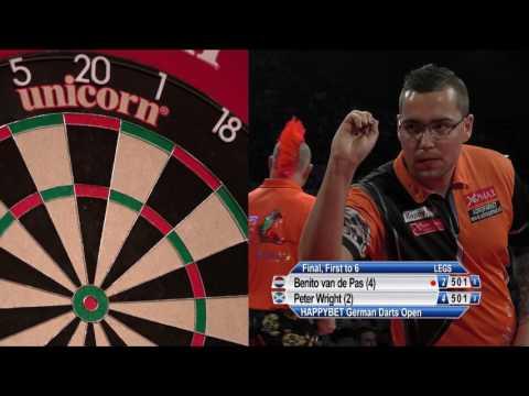 HappyBet German Darts Open - Final - Benito van de Pas v Peter Wright
