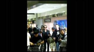 02/05/2010 Tokio Hotel in  Taiwan Taoyuan International Airport
