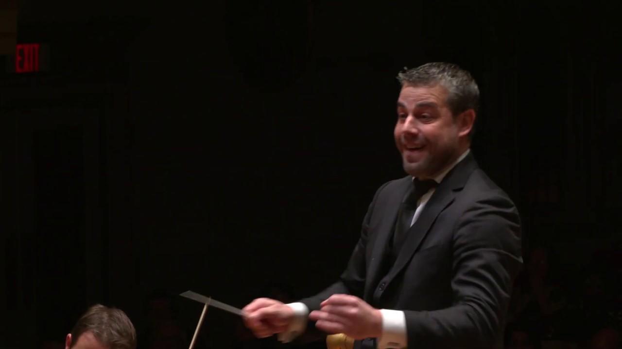 "Artwork representing BERLIOZ ""Symphonie fantastique"" IV Marche au supplice / Detroit Symphony Orchestra / Jader Bignamini"
