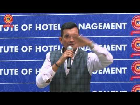 Chef. Sanjeev Kapoor Talk in Guru Nanak IHM Seminar 2017..