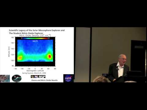 """The Atmospheric Part of """"LASP"""": Ozone, Nitric Oxide, and Solar Influences"""
