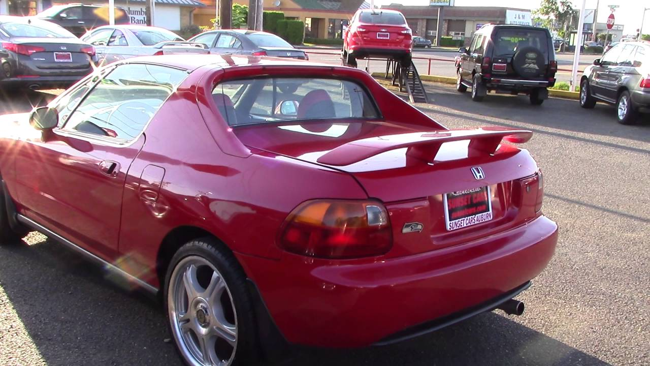 1995 Honda Civic Del Sol (Stock #96251) At Sunset Cars Of Auburn