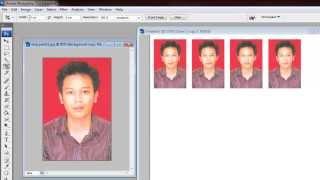 Cara Mudah Banget Membuat Pas Photo dengan Photoshop