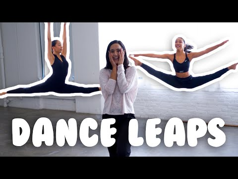How To Do Dance Leaps I Center Leaps And Calypsos With @MissAuti