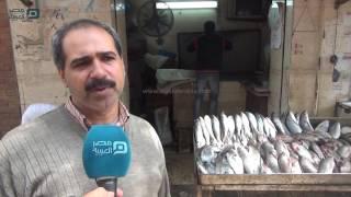 بالفيديو| تجار أسماك: مع اقتراب شم النسيم الأسعار نار .. ومواطنين: بنشتريها بالعدد