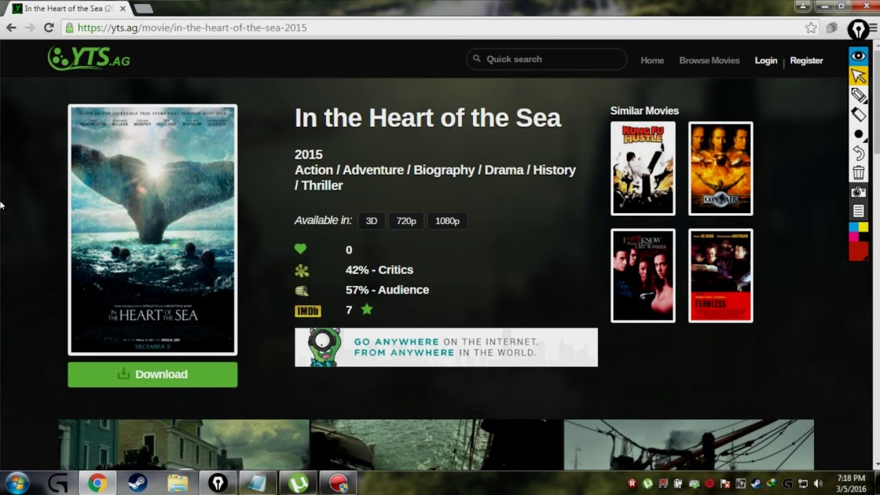 how to download hd (1080p) movies for free. - youtube
