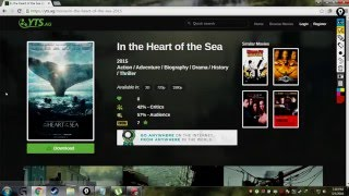 How to download HD (1080p) movies for free.
