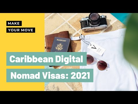 DIGITAL NOMAD CARIBBEAN VISA 2021: 3 Questions to Ask Before Applying!