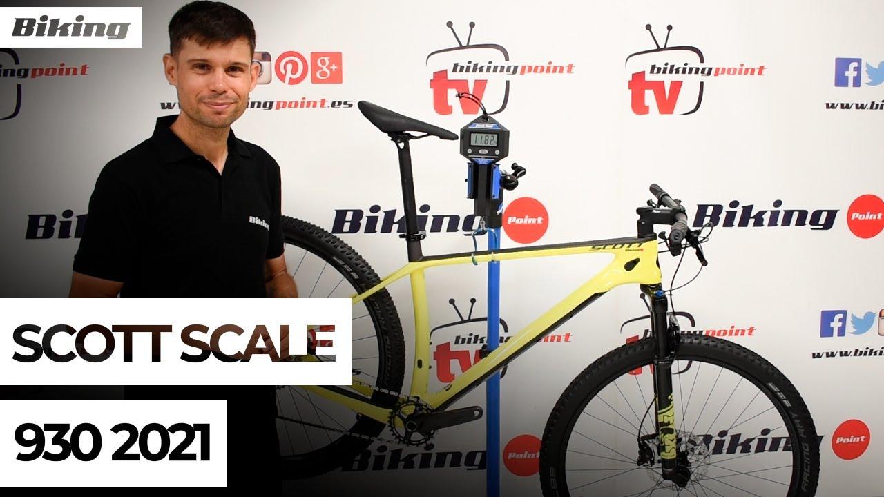 Bicicleta Scott Scale 930 2021 | Presentación