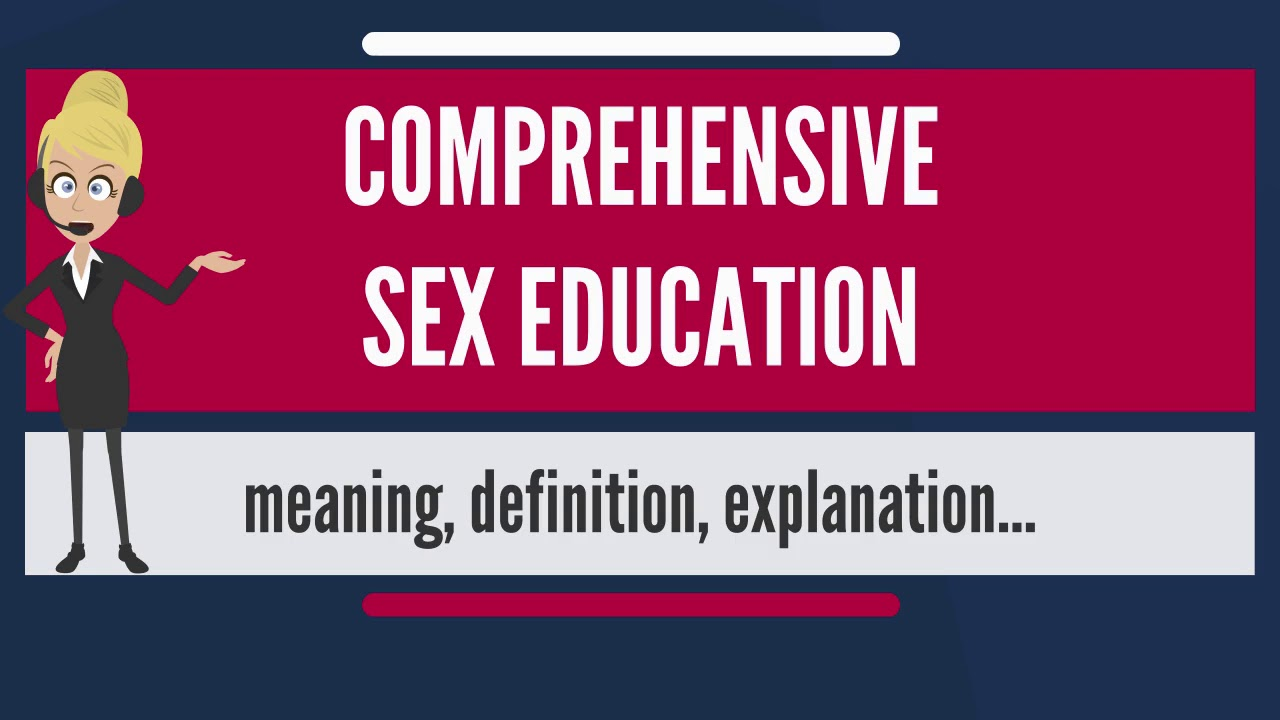 Cons of comprehensive sex education