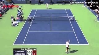 【テニス】錦織 圭VSノバク・ジョコビッチ 錦織圭 検索動画 10