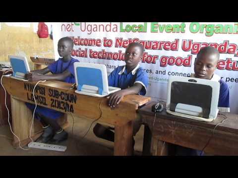 Kasozi Paul (Bluebonnet-Sponsored NetSquared Uganda Computer Training for Rural School Beneficially)