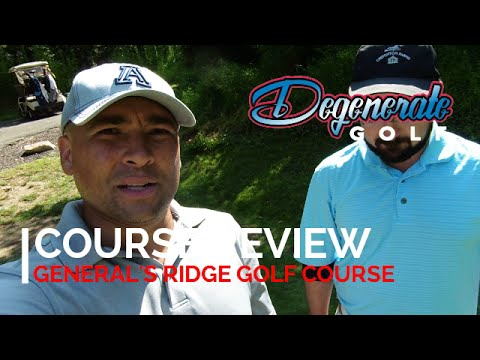 """""""Do you think they could've let us play through?"""" - Golf Course Review - General's Ridge Golf Course"""